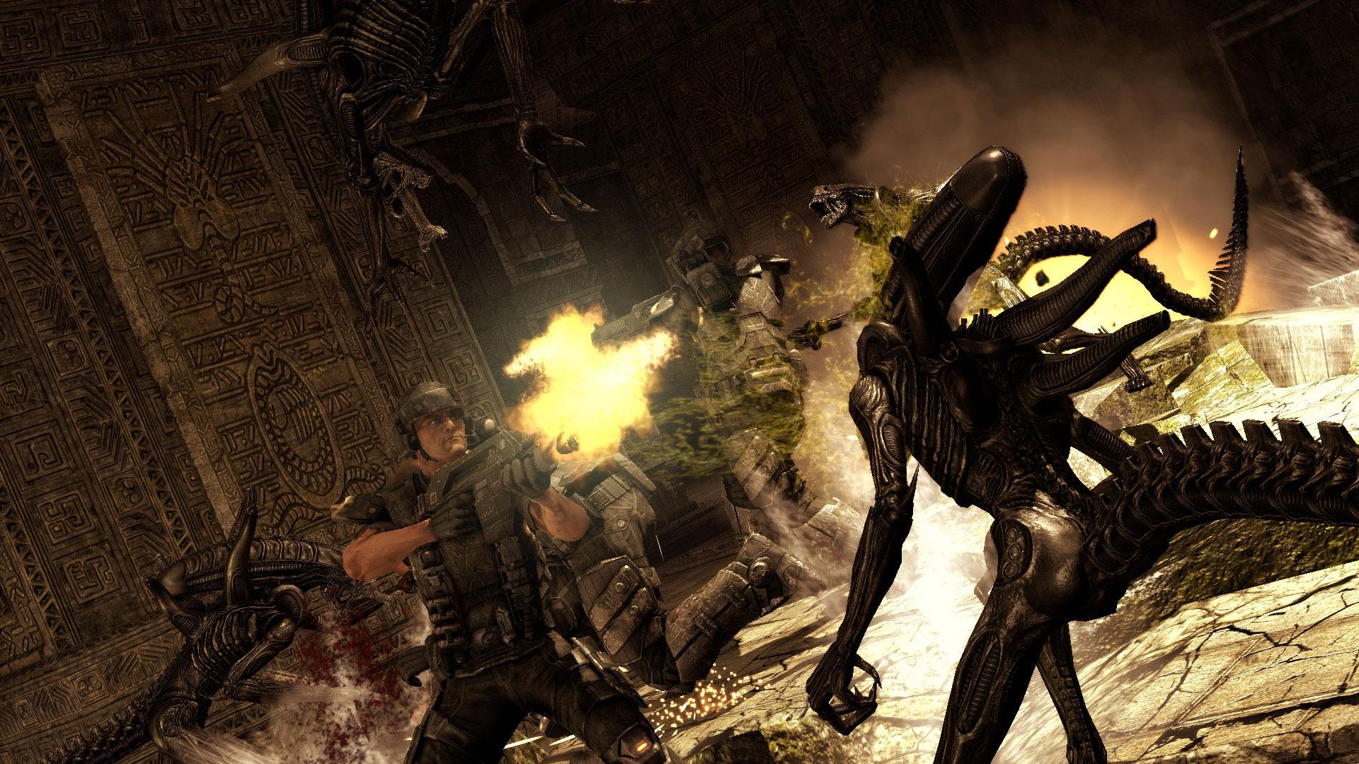 Новый сборник карт для Aliens vs Predator.