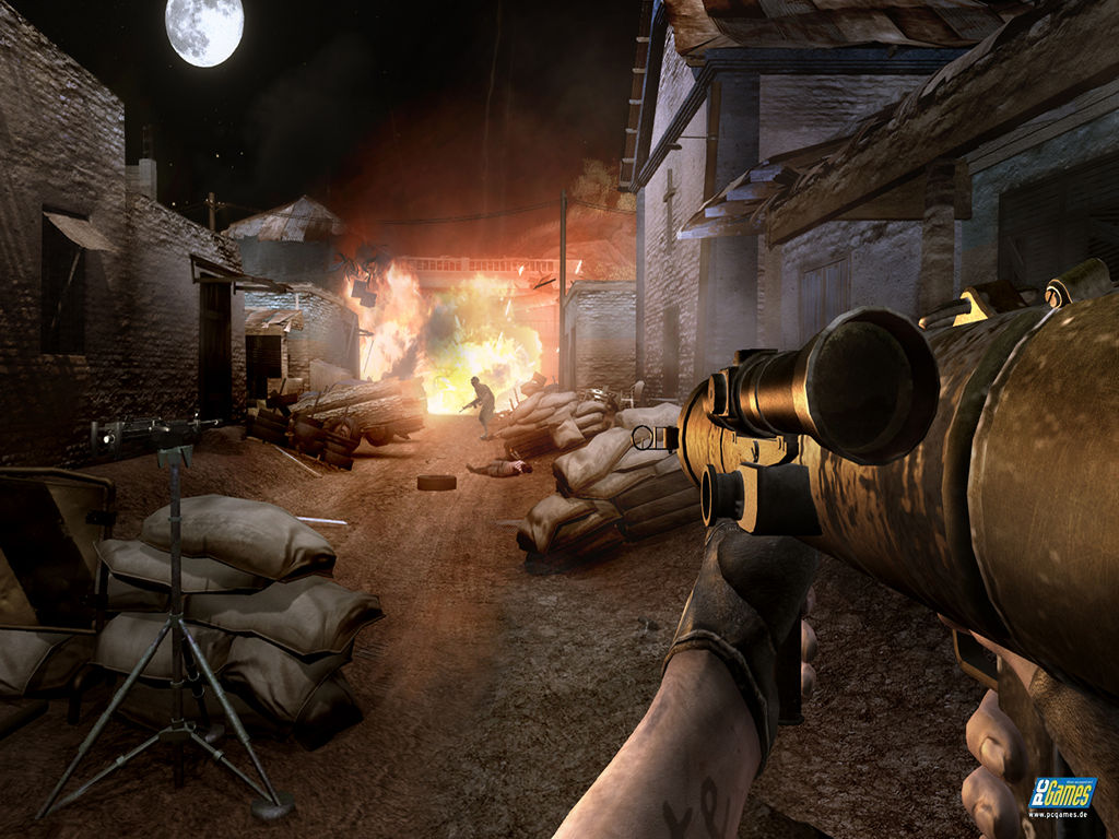 Скриншоты из игры Far Cry 2.